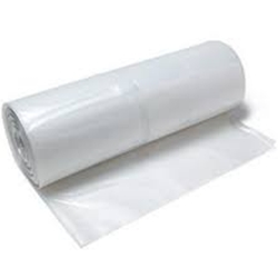 Clear Poly Film Sheeting 20' x 100' x 6 mil