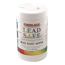 "LeadSafe TSP Wipes 8"" x 12"" 6/Case"