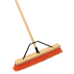 "18"" Push Broom-Handle & Brace"