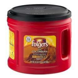 Coffee Folgers Regular 33.9oz Can 6/Case