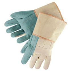 "Heavyweight Green Hotmill Glove w/ 4.5"" Cuff"