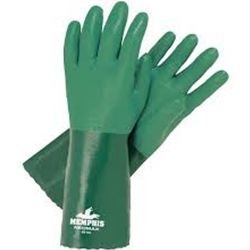 "Neomax Supported 14"" Green Glove"
