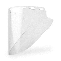 "Lexan 10"" x 18.5"" x .07 Clear Faceshield"