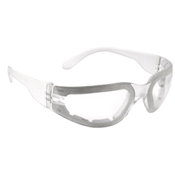 Clear Mirage Foam-Lined Anti-Fog Safety Glass