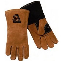 Brown Leather Welding Glove