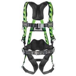 Miller Aircore Harness: (single back D ring, steel hardware)