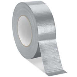 "Nashua® 2"" X 60 yd Silver Series 300 10 mil Polyethylene Coated Cloth Multi-Purpose Duct Tape"