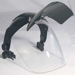 6 IR Polycarbonate Faceshield Visor