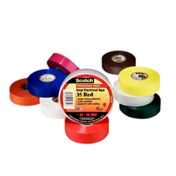 "Electrical Tape 3/4"" x 66' Roll Yellow"