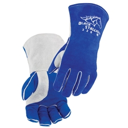 Comfort-Lined Cowhide High-Quality Stick Welding Gloves