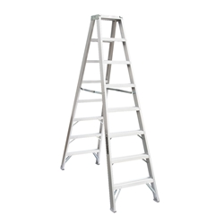 Aluminium Twin Front Step Ladder