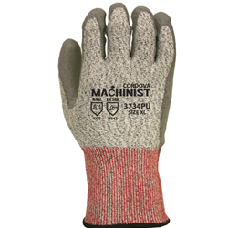 3734PU A4 Cut Resistant Glove PU Coating