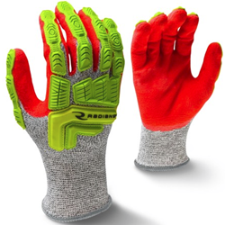 RWG603 Cut Protection Level A5 Sandy Foam Nitrile Coated Glove