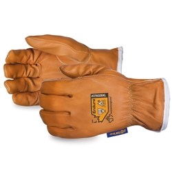 Endura Arc Flash Goat-Grain Drivers Glove With Waterstop/Oilbloc