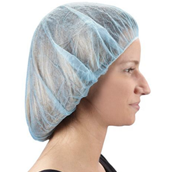"Blue 24"" Bouffant Cap"