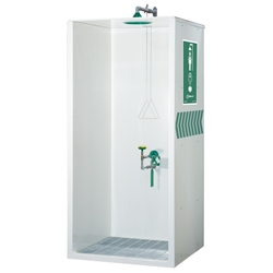 AXION® MSR Booth Enclosed Shower and Eye/Face Wash
