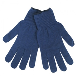 Blue Thermal Glove Liner