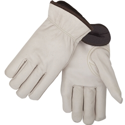 Fleece Insulated Cowhide Winter Drivers Glove X