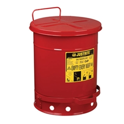 10 Gallon Metal Safety Can Oily Rags