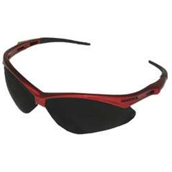Kimberly Clark Nemesis Red Frame Clear Lens