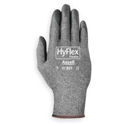 HyFlex 11-801 Foam Nitrile-Coated Gloves