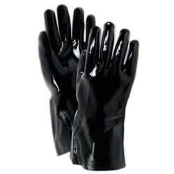 "Fully Neoprene-Coated Black 12"" Glove"