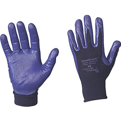 G40 PURPLE NITRILE* foam-coated gloves 10 (XL) Purple/black