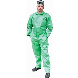 Green Welding Coverall 9oz
