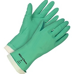 "13"" Flocklined Nitrile Glove"