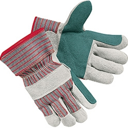 Double Palm Leather Work Glove
