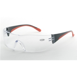 Cheaters Clear Bi-Focal Safety Glasses