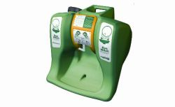 AuaGuard gravity-flow portable eyewash 16 gal.