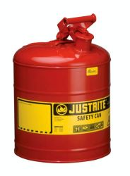 5-Gal. steel safety can Red