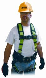 Contractor harness w/ back & side D-rings Universal